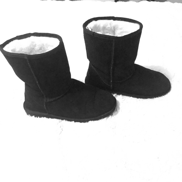 Roots 'Erindale' black Boots